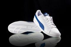 Κλασικό πάνινο παπούτσι Puma Στοκ Εικόνες