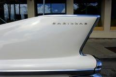Κλασικό πτερύγιο ουρών Cadillac του 1958 Στοκ φωτογραφίες με δικαίωμα ελεύθερης χρήσης