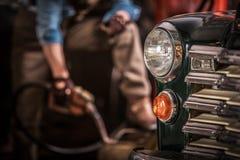 Κλασικό χόμπι αυτοκινήτων στοκ φωτογραφίες με δικαίωμα ελεύθερης χρήσης