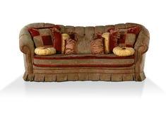 κλασικό ύφος καναπέδων Στοκ φωτογραφία με δικαίωμα ελεύθερης χρήσης