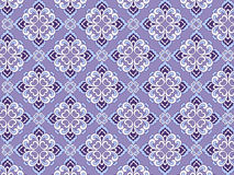 κλασικό floral πρότυπο Στοκ φωτογραφία με δικαίωμα ελεύθερης χρήσης