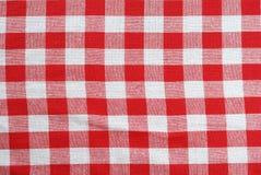 κλασικό picnic υφασμάτων Στοκ Εικόνα