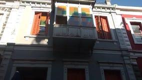 Κλασσικά ζωηρόχρωμα σπίτια στο Ιζμίρ, Τουρκία