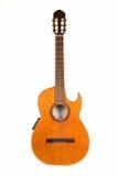 κλασσική κιθάρα αποκοπών Στοκ Φωτογραφία