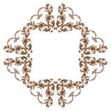 Κλασσική μπαρόκ διακόσμηση στοκ εικόνες