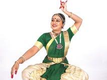 κλασσικός χορευτής Ινδί& στοκ εικόνες