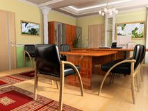 κλασσικό γραφείο Στοκ εικόνες με δικαίωμα ελεύθερης χρήσης