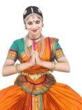 κλασσικό θηλυκό χορευτών της Ασίας Στοκ φωτογραφία με δικαίωμα ελεύθερης χρήσης