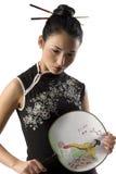 κλασσικό κορίτσι ιαπωνι&kap Στοκ φωτογραφίες με δικαίωμα ελεύθερης χρήσης