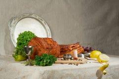 κλασσικό κρέας ζωής ακόμα Στοκ εικόνα με δικαίωμα ελεύθερης χρήσης