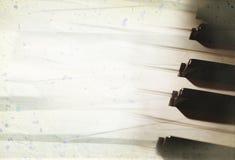 κλασσικό πιάνο ανασκόπηση Στοκ Φωτογραφίες