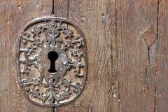 κλείδωμα μεσαιωνικό Στοκ Φωτογραφία
