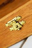 Κλείδωμα μετάλλων Στοκ εικόνα με δικαίωμα ελεύθερης χρήσης
