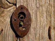 κλείδωμα παλαιό Στοκ εικόνα με δικαίωμα ελεύθερης χρήσης