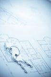 κλείδωμα πλήκτρων σχεδι&al Στοκ Εικόνες