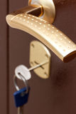 κλείδωμα πορτών Στοκ Εικόνες
