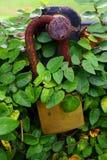 κλείδωμα που οξυδώνεται Στοκ φωτογραφία με δικαίωμα ελεύθερης χρήσης