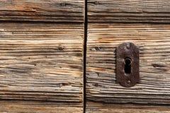 κλείδωμα σιδήρου παλαιό Στοκ Φωτογραφία