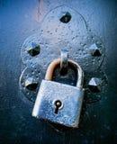 κλείδωμα σκουριασμένο Στοκ φωτογραφίες με δικαίωμα ελεύθερης χρήσης