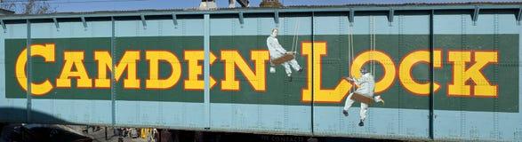 κλείδωμα του Κάμντεν Στοκ φωτογραφία με δικαίωμα ελεύθερης χρήσης