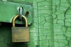 κλείδωμα Στοκ φωτογραφία με δικαίωμα ελεύθερης χρήσης