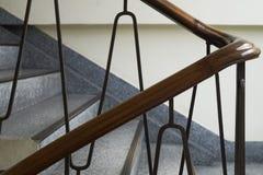 Κλείστε αυξημένος της εκλεκτής ποιότητας σκάλας στο ελάχιστο ύφος Στοκ Φωτογραφία
