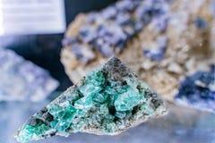 Κλείστε αυξημένος του βράχου μεταλλευμάτων στα ορυχεία Glengowla στοκ φωτογραφία με δικαίωμα ελεύθερης χρήσης