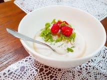 Κλείστε επάνω ακόμα την εικόνα του παραδοσιακού γλυκού επιδορπίου Chendol Στοκ Εικόνα