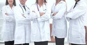 κλείστε επάνω ιατρικό προσωπικό του κέντρου Wellness στοκ φωτογραφίες