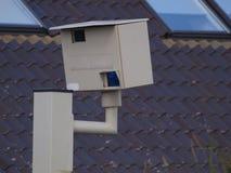 Κλείστε επάνω μιας κάμερας υψηλής ταχύτητας ραντάρ Gatso στο Ρότερνταμ Nesselande Στοκ φωτογραφία με δικαίωμα ελεύθερης χρήσης