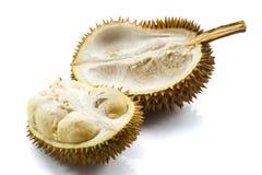 Κλείστε επάνω ξεφλουδισμένου durian Στοκ Εικόνα