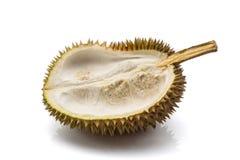 Κλείστε επάνω ξεφλουδισμένου durian Στοκ Εικόνες