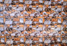 Κλείστε επάνω στα μαρμάρινα κεραμίδια σύστασης βράχου, αφηρημένο υπόβαθρο στοκ φωτογραφίες