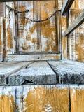 Κλείστε επάνω την άποψη του ανάποδου σπιτιού στοκ εικόνες με δικαίωμα ελεύθερης χρήσης