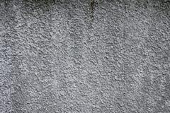 Κλείστε επάνω την κορυφή επάνω από την υπερυψωμένη φωτογραφία άποψης της παλαιάς τραχιάς smoothless γκρίζας σύστασης στο γκρίζο υ Στοκ Εικόνες