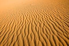 Κλείστε επάνω της σύστασης ενός αμμόλοφου άμμου στοκ εικόνα με δικαίωμα ελεύθερης χρήσης