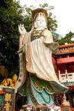 Κλείστε επάνω τη λάρνακα Guan Yin διοσκορέων Kwun στο ναό Hau κασσίτερου Στοκ φωτογραφίες με δικαίωμα ελεύθερης χρήσης
