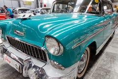 Κλείστε επάνω του εκλεκτής ποιότητας αυτοκινήτου Chevrolet Bel Air - εικόνα αποθεμάτων Στοκ εικόνες με δικαίωμα ελεύθερης χρήσης