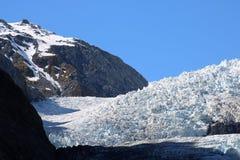 Κλείστε επάνω του πάγου, Franz Josef Glacier, Νέα Ζηλανδία Στοκ εικόνα με δικαίωμα ελεύθερης χρήσης