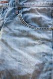 Κλείστε επάνω του τζιν παντελόνι Στοκ εικόνα με δικαίωμα ελεύθερης χρήσης