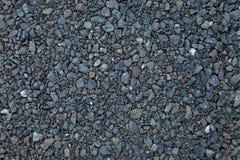 Κλείστε επάνω το γκρίζο υπόβαθρο αμμοχάλικου γρανίτη Σύσταση αμμοχάλικου υποβάθρου χαλικιών Υπόβαθρο αμμοχάλικου στοκ φωτογραφίες με δικαίωμα ελεύθερης χρήσης