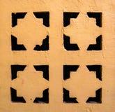 Κλείστε επάνω το διακοσμητικό πλέγμα εξαερισμού μετάλλων στοκ εικόνες με δικαίωμα ελεύθερης χρήσης