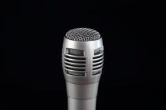 Κλείστε επάνω το μικρόφωνο Στοκ Εικόνες