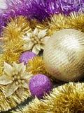 Κλείστε επάνω το σύνολο Χριστουγέννων Στοκ Εικόνα