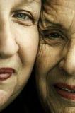 κλείστε τα χαμόγελα επάν&om Στοκ φωτογραφία με δικαίωμα ελεύθερης χρήσης
