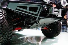 Κλείστε το βλέμμα του πλαϊνού οχήματος Στοκ Φωτογραφίες