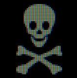 κλείστε το σύμβολο πειρατών επάνω Στοκ Εικόνα