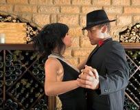 κλείστε το χορό Στοκ Εικόνες