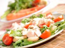 κλείστε υγιή επάνω τροφίμ&ome Στοκ Εικόνες