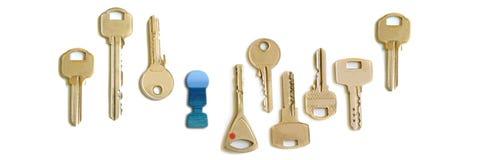 κλειδί διακοπών για Στοκ Φωτογραφία